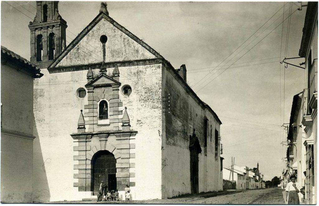 Convento de San Basilio en 1900