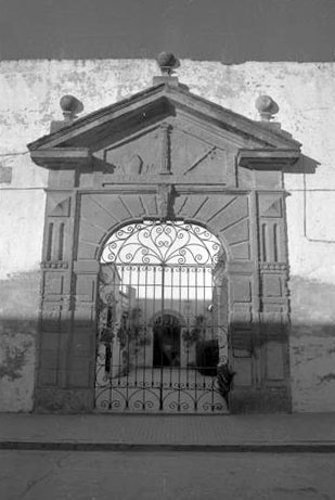 Portada Convento de San Basilio