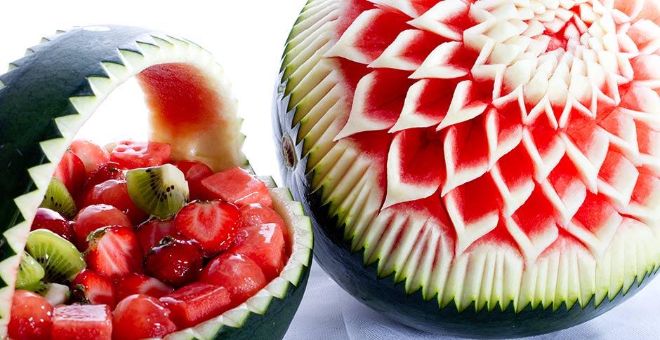disFruta Fruta Tallada
